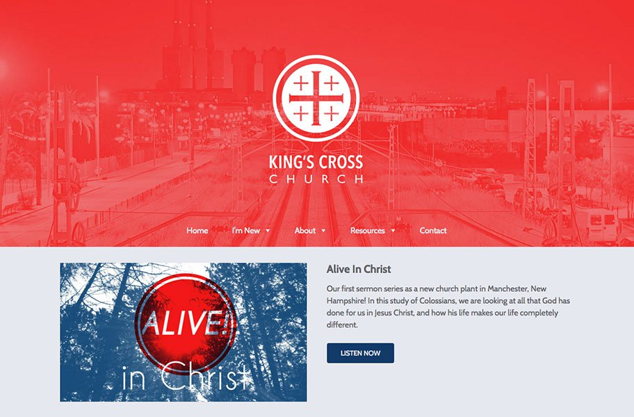 King's Cross Church Website