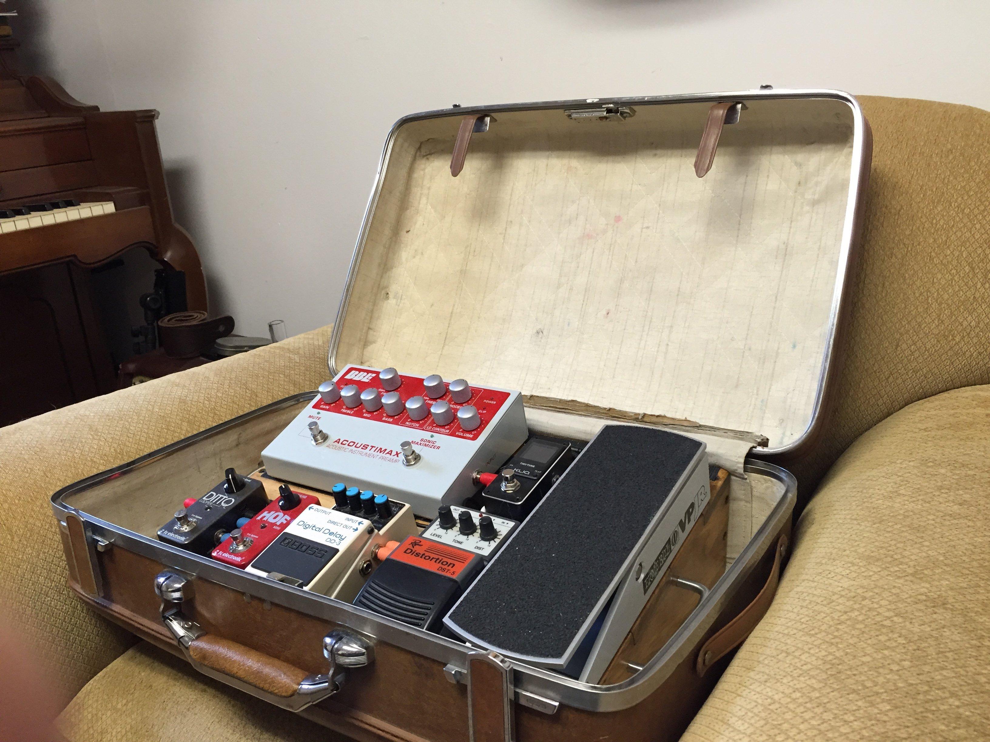 Acoustic Guitar Pedalboard Matt Litzinger