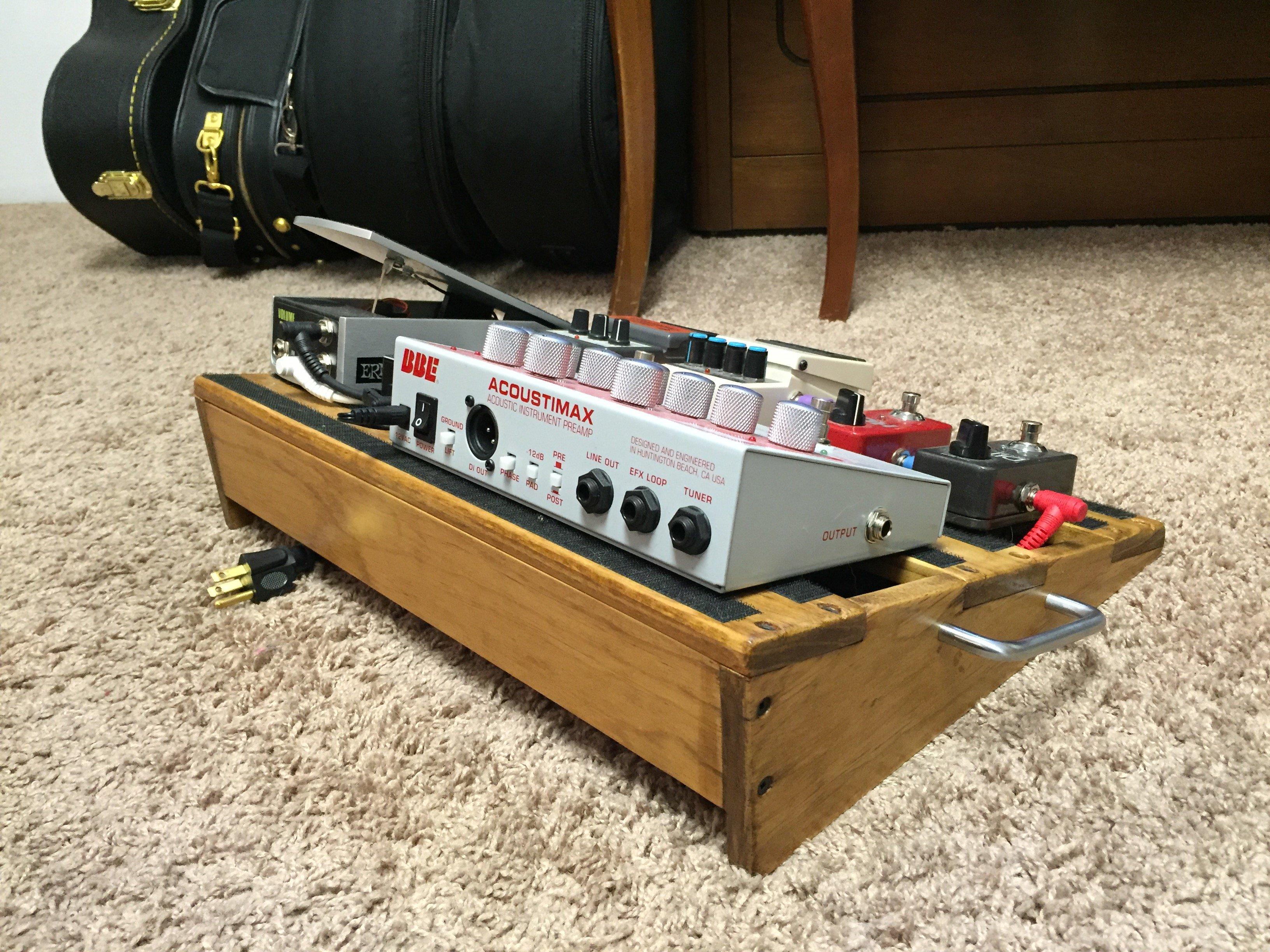 acoustic guitar pedalboard matt litzinger. Black Bedroom Furniture Sets. Home Design Ideas